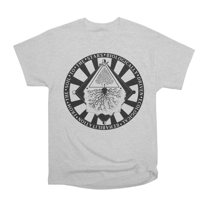 Soil to the Stars Men's T-Shirt by Green Source Gardens