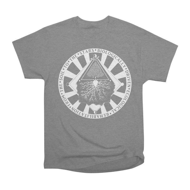 Soil to the Stars in White Women's T-Shirt by Green Source Gardens