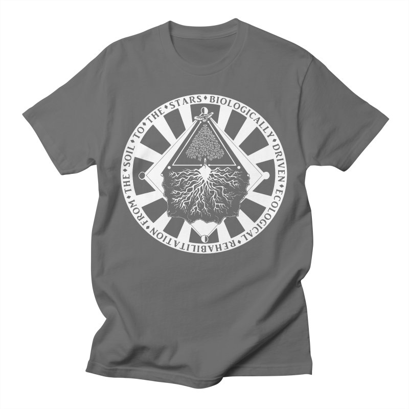 Soil to the Stars in White Men's T-Shirt by Green Source Gardens