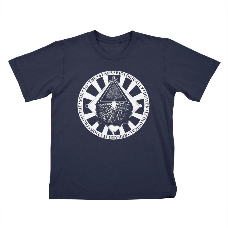 Soil to the Stars in White Kids T-Shirt by Green Source Gardens
