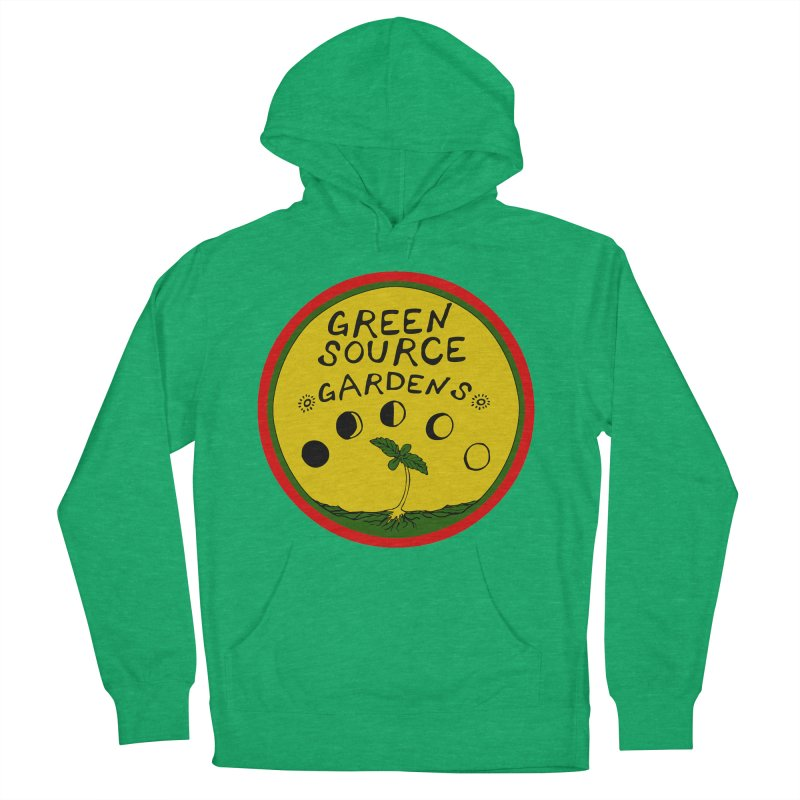 Green Source Gardens Women's French Terry Pullover Hoody by Green Source Gardens
