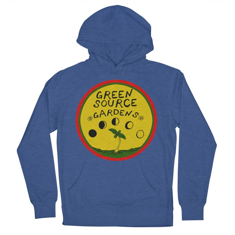 Green Source Gardens Men's French Terry Pullover Hoody by Green Source Gardens