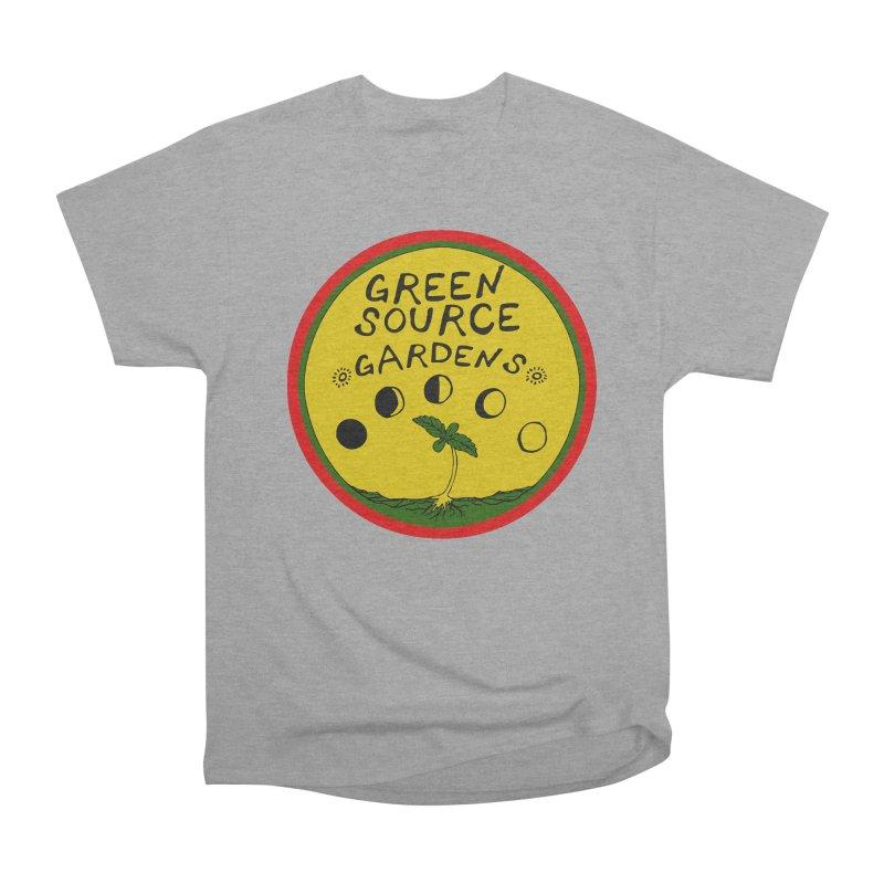 Green Source Gardens Men's Heavyweight T-Shirt by Green Source Gardens
