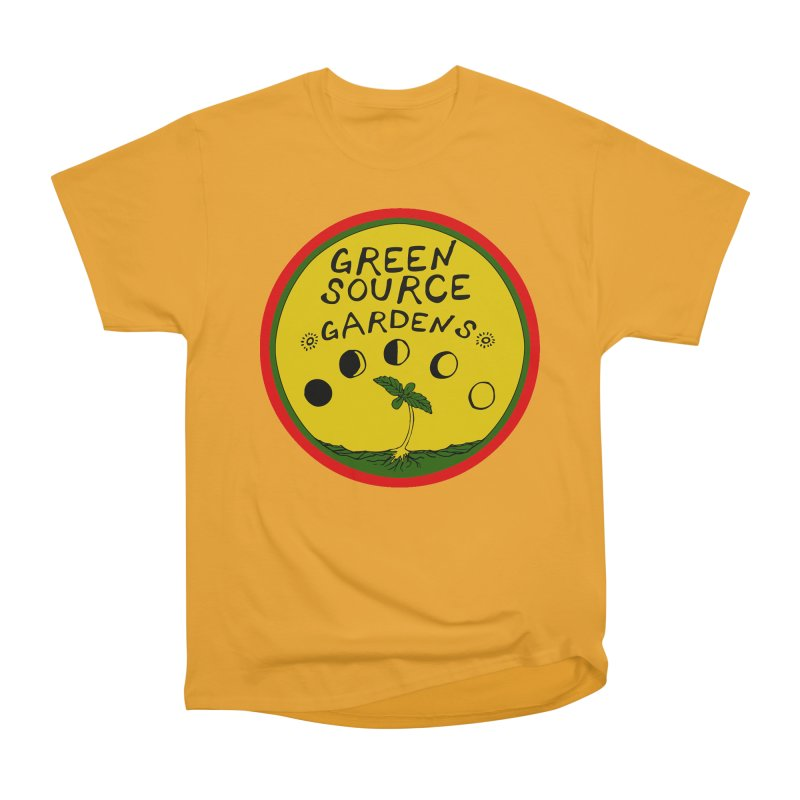 Green Source Gardens Men's Heavyweight T-Shirt by Green Source Gardens