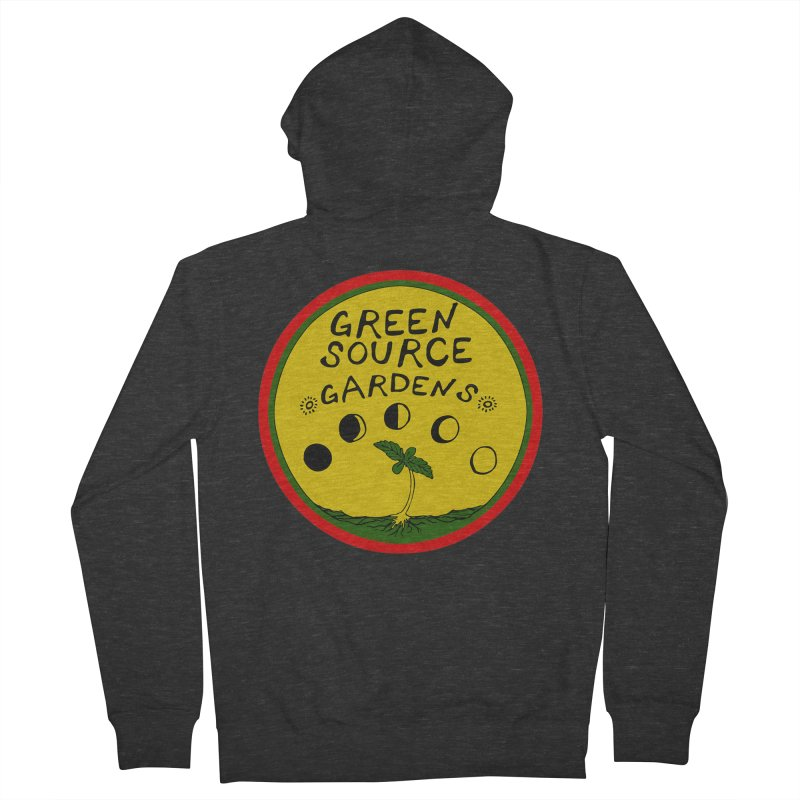 Green Source Gardens Women's French Terry Zip-Up Hoody by Green Source Gardens