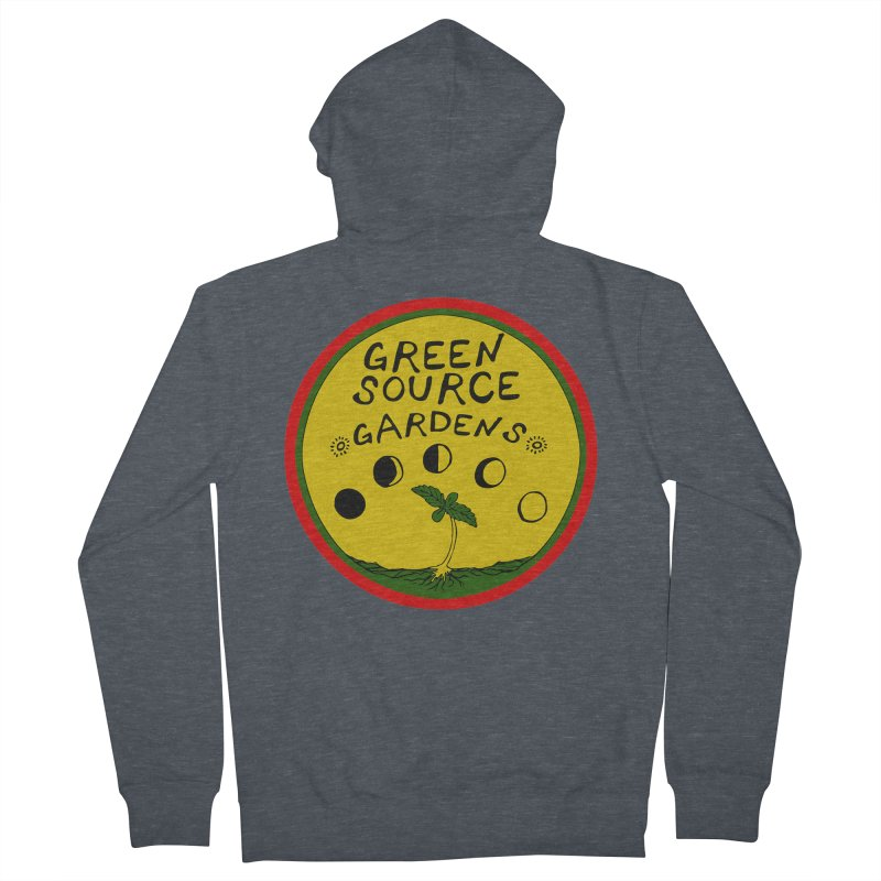 Green Source Gardens Men's Zip-Up Hoody by Green Source Gardens