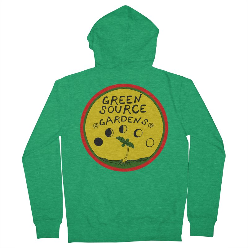 Green Source Gardens Men's Zip-Up Hoody by Green Source Gardens