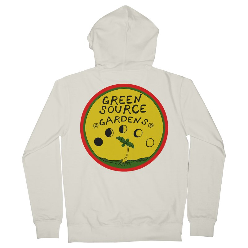 Green Source Gardens Men's French Terry Zip-Up Hoody by Green Source Gardens