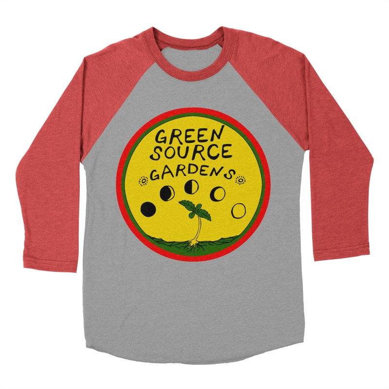 Green Source Gardens Women's Baseball Triblend Longsleeve T-Shirt by Green Source Gardens