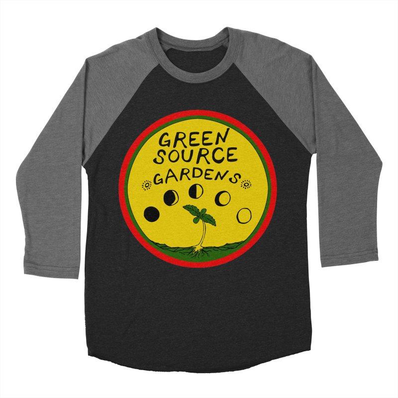 Green Source Gardens Women's Baseball Triblend Longsleeve T-Shirt by Green Source Gardens