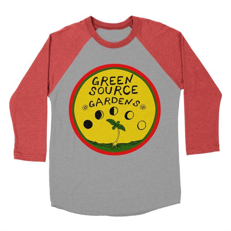 Green Source Gardens Men's Baseball Triblend Longsleeve T-Shirt by Green Source Gardens