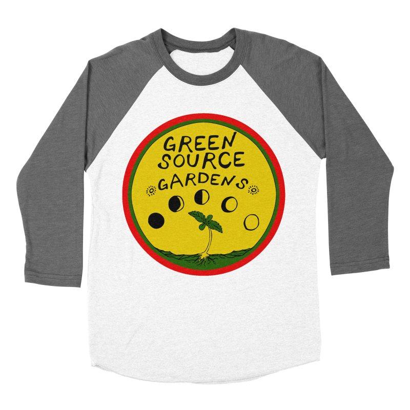 Green Source Gardens Men's Baseball Triblend T-Shirt by Green Source Gardens