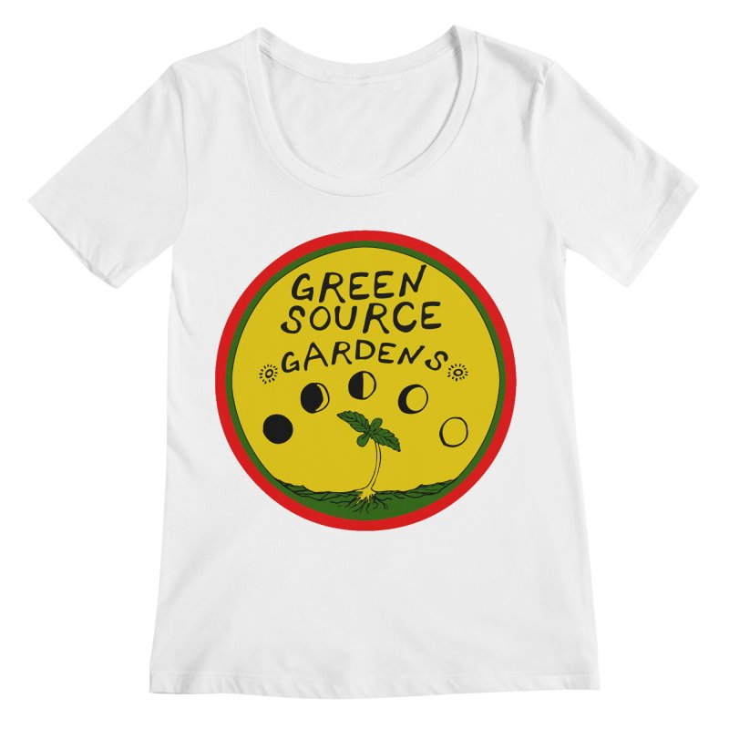 Green Source Gardens Women's Regular Scoop Neck by Green Source Gardens