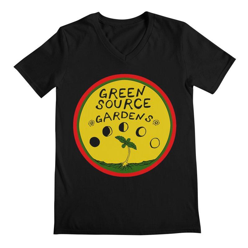 Green Source Gardens Men's Regular V-Neck by Green Source Gardens