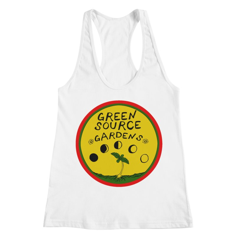Green Source Gardens Women's Racerback Tank by Green Source Gardens