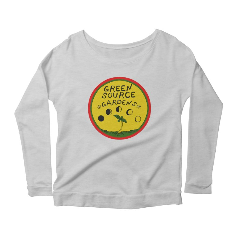 Green Source Gardens Women's Scoop Neck Longsleeve T-Shirt by Green Source Gardens