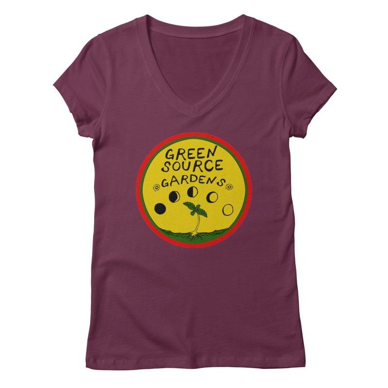 Green Source Gardens Women's Regular V-Neck by Green Source Gardens