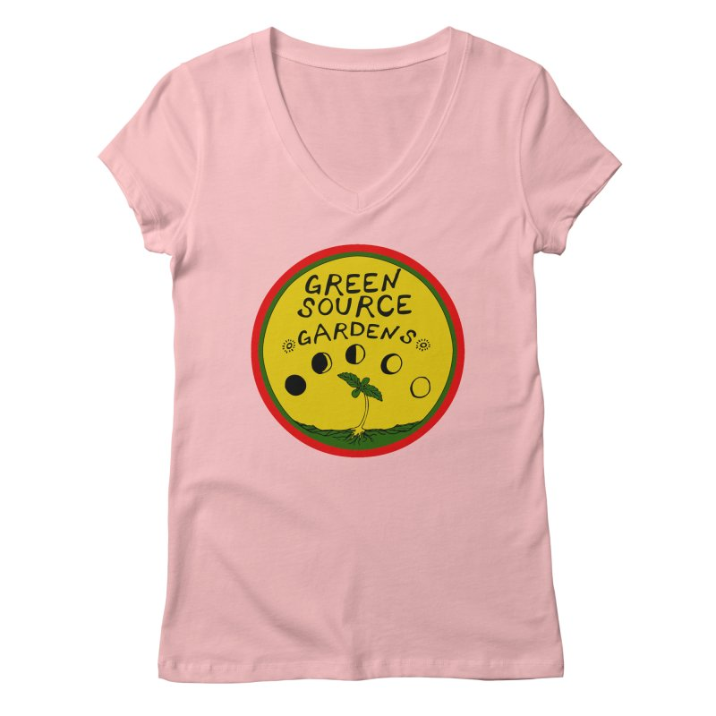 Green Source Gardens Women's V-Neck by Green Source Gardens
