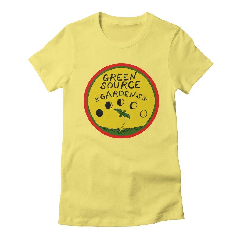 Green Source Gardens Women's Fitted T-Shirt by Green Source Gardens