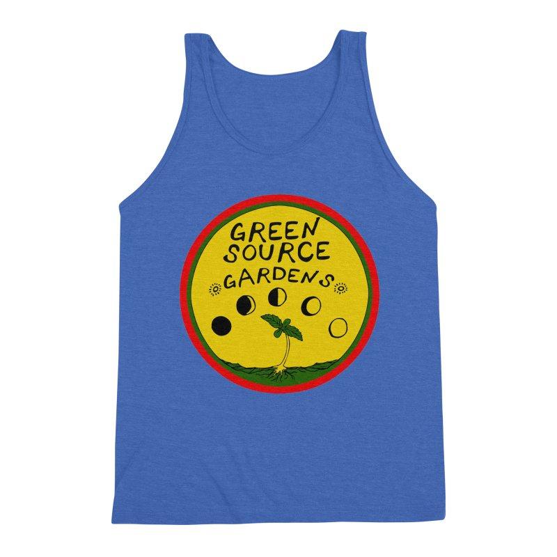 Green Source Gardens Men's Triblend Tank by Green Source Gardens
