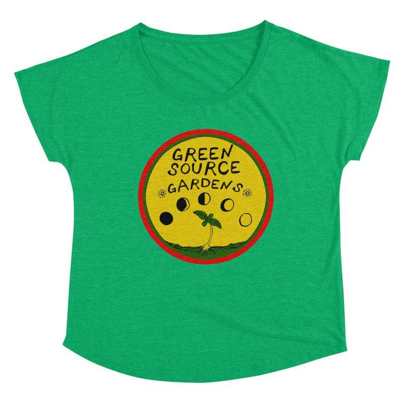 Green Source Gardens Women's Scoop Neck by Green Source Gardens