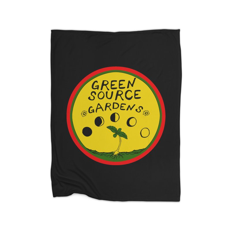 Green Source Gardens Home Fleece Blanket Blanket by Green Source Gardens