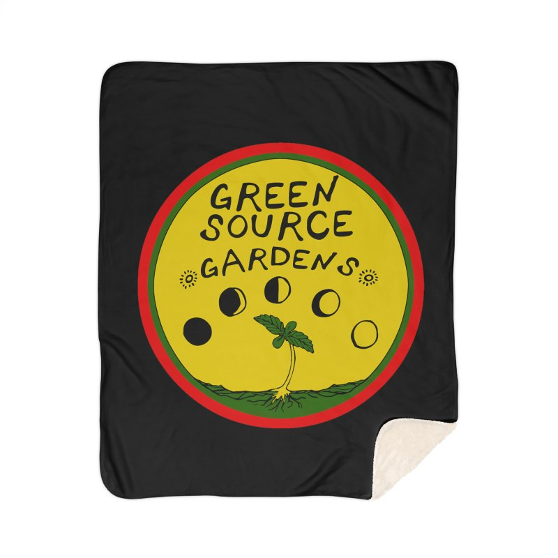 Green Source Gardens Home Sherpa Blanket Blanket by Green Source Gardens