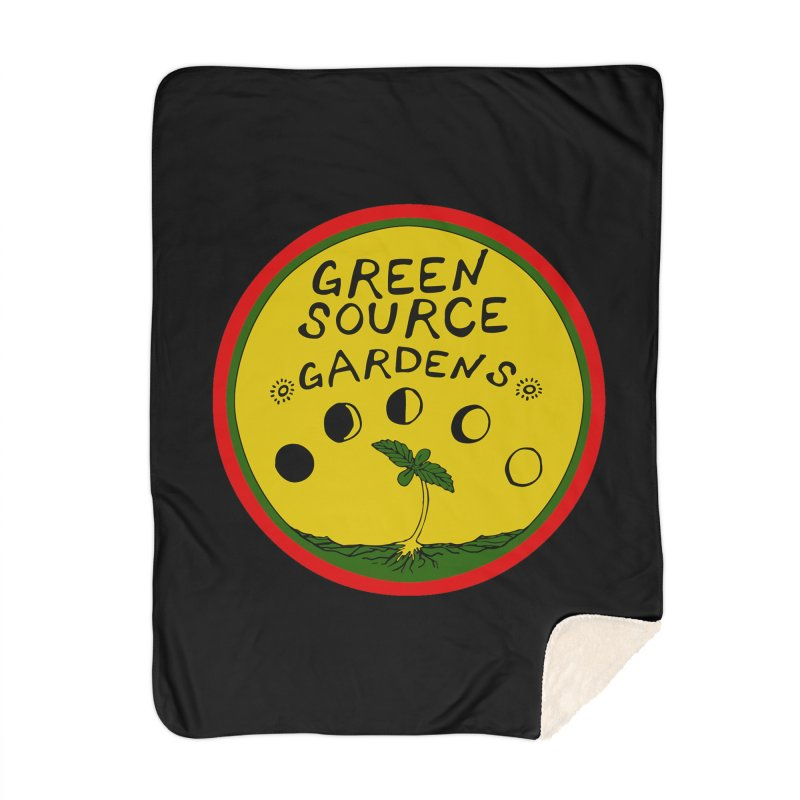 Green Source Gardens Home Blanket by Green Source Gardens