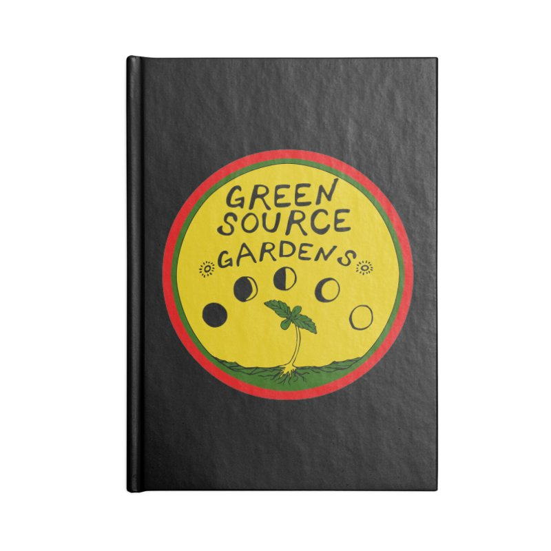 Green Source Gardens Accessories Blank Journal Notebook by Green Source Gardens