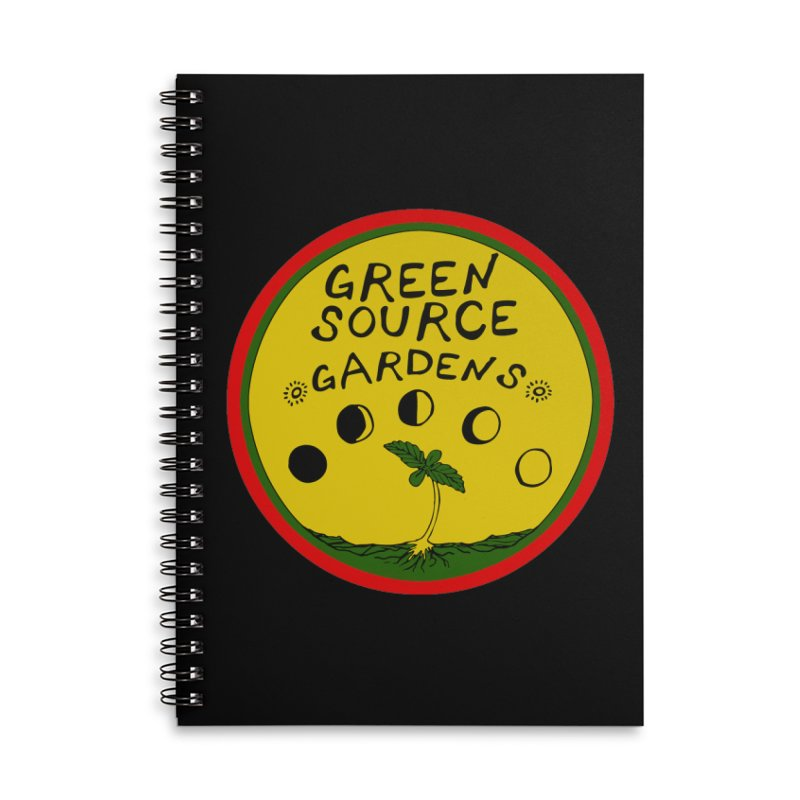 Green Source Gardens Accessories Lined Spiral Notebook by Green Source Gardens