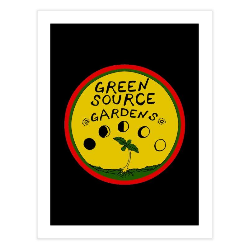 Green Source Gardens Home Fine Art Print by Green Source Gardens