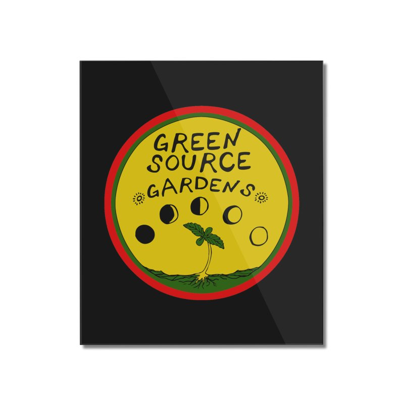 Green Source Gardens Home Mounted Acrylic Print by Green Source Gardens