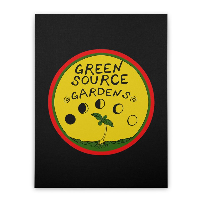 Green Source Gardens Home Stretched Canvas by Green Source Gardens