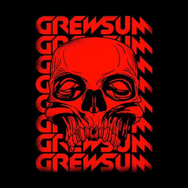 GREWSUM - SKULL TEE Men's T-Shirt by GrewSum's Shop