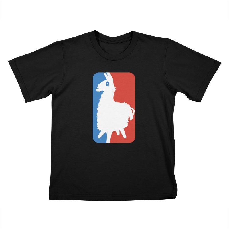 Llamanite Kids T-Shirt by HIDENbehindAroc's Shop