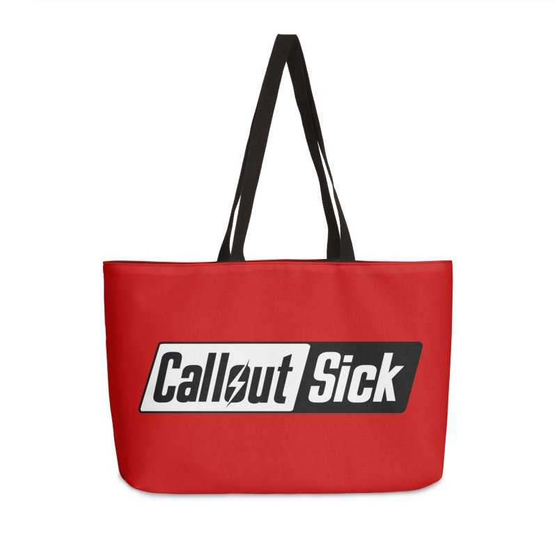 Callout Sick Accessories Bag by HIDENbehindAroc's Shop