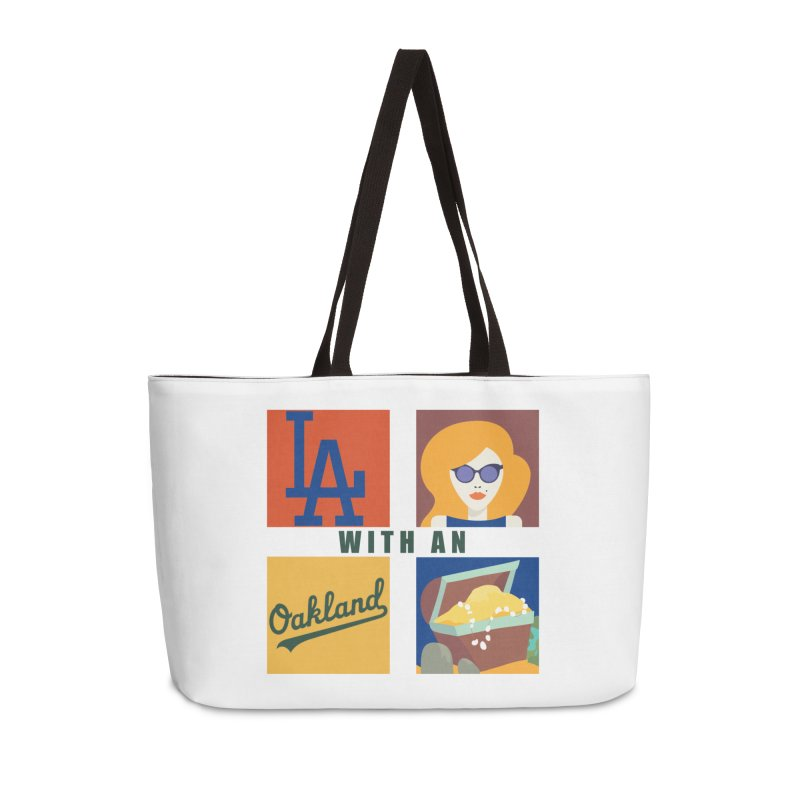 La Face With An Oakland Booty Accessories Bag by HIDENbehindAroc's Shop