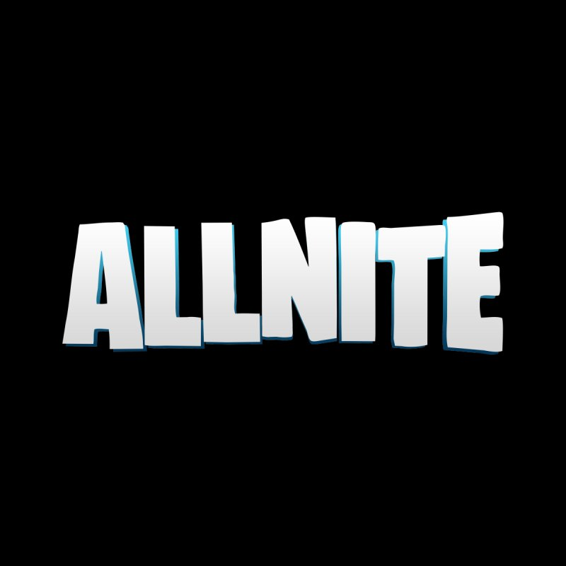 ALLNITE Men's T-Shirt by HIDENbehindAroc's Shop