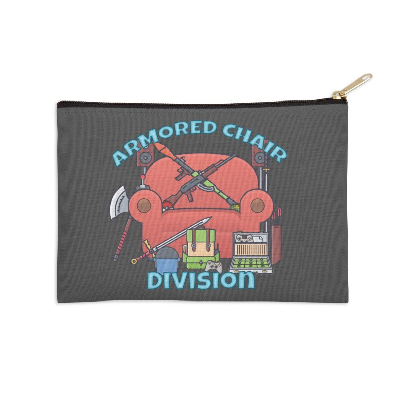 Armored Chair Division Accessories Zip Pouch by HIDENbehindAroc's Shop