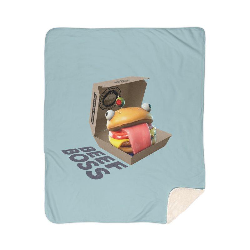 Beef Boss Home Blanket by HIDENbehindAroc's Shop
