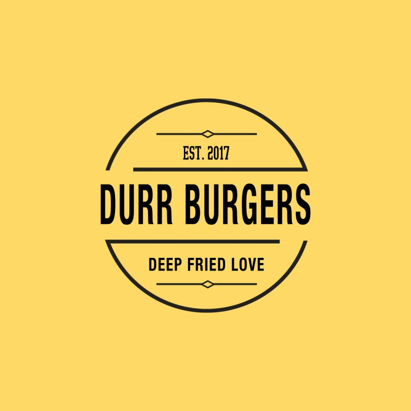 DURR Burgers Men's T-Shirt by HIDENbehindAroc's Shop