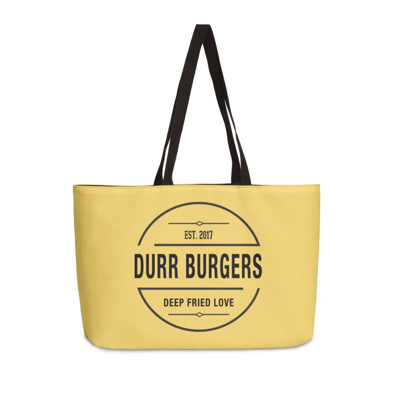 DURR Burgers Accessories Bag by HIDENbehindAroc's Shop