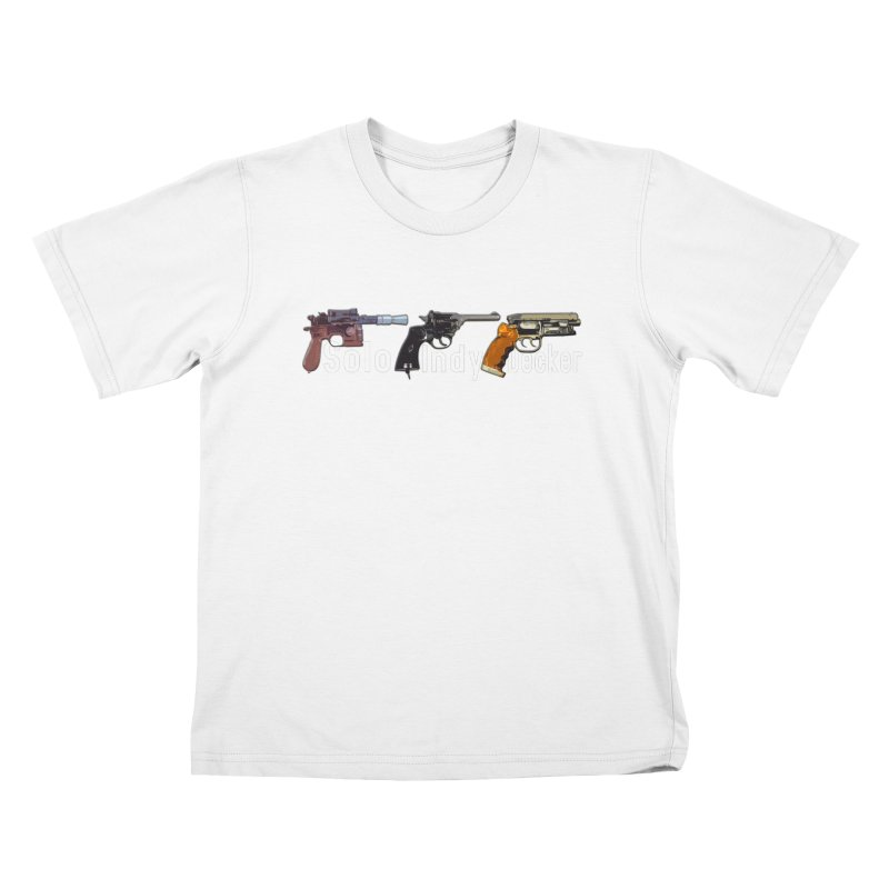Ford's Arms Kids T-Shirt by HIDENbehindAroc's Shop