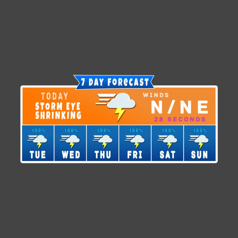 7 Day Fortnite Forcast Accessories Sticker by HIDENbehindAroc's Shop