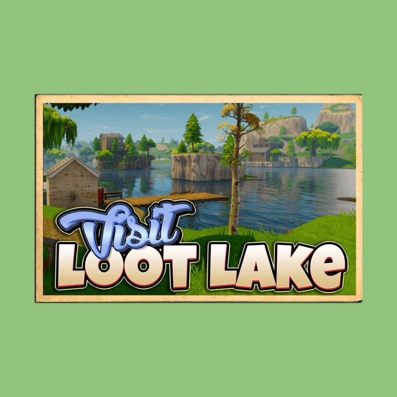 Visit Loot Lake Men's T-Shirt by HIDENbehindAroc's Shop
