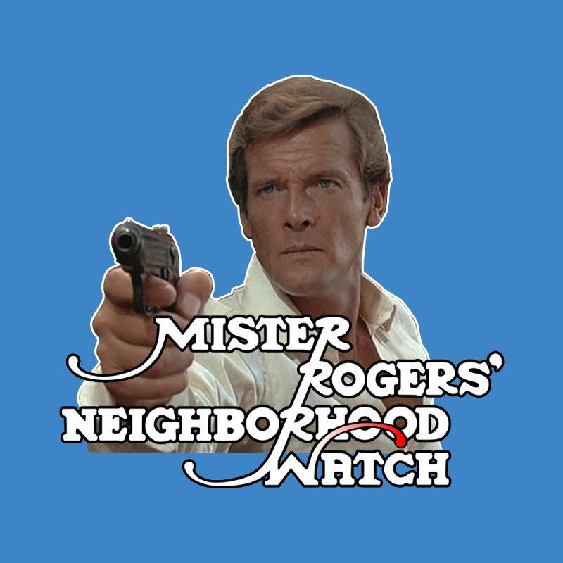 Mr Rogers' Neighborhood Watch Kids T-Shirt by HIDENbehindAroc's Shop