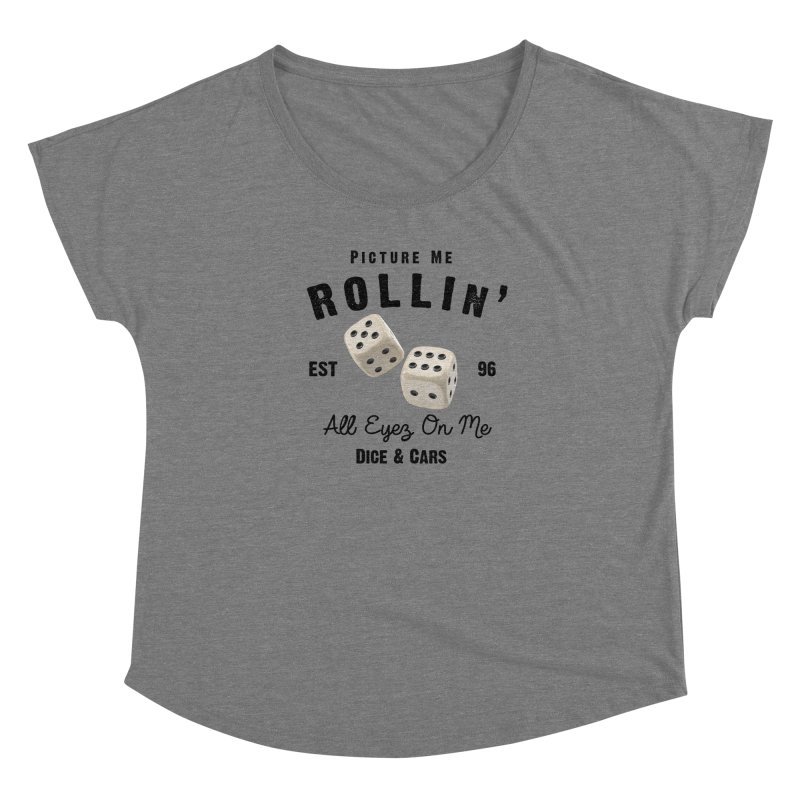 Picture Me Rollin' Women's Scoop Neck by HIDENbehindAroc's Shop