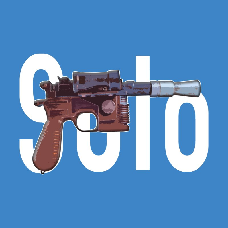 Solo Blaster Kids T-Shirt by HIDENbehindAroc's Shop