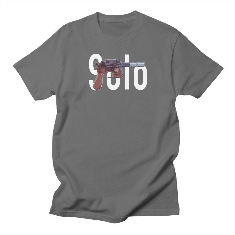 Solo Blaster Men's T-Shirt by HIDENbehindAroc's Shop