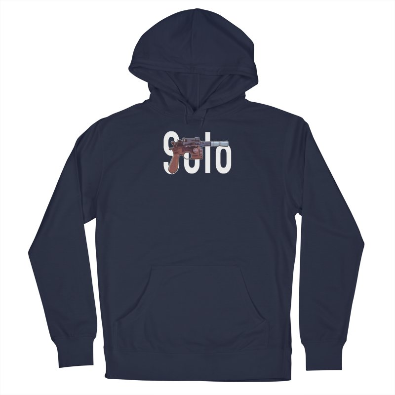 Solo Blaster Men's Pullover Hoody by HIDENbehindAroc's Shop